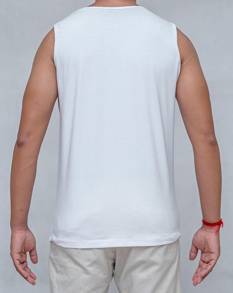 LordShiva-White-Debardeur Personalised