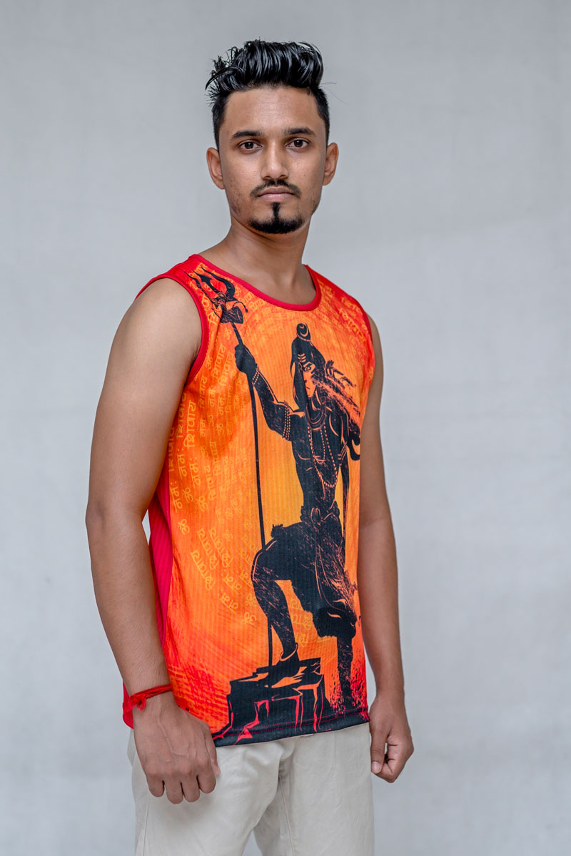 Mighty Lord Shiva Tank Top