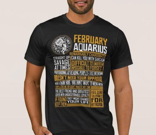 February-Aquarius-TShirt-Online-Shopping-Mauritius