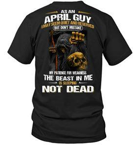 As an april guy